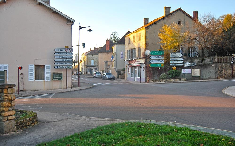 Iguerande (71) Le Fiacre, restaurant
