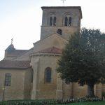 L'église de Iguerande (71)